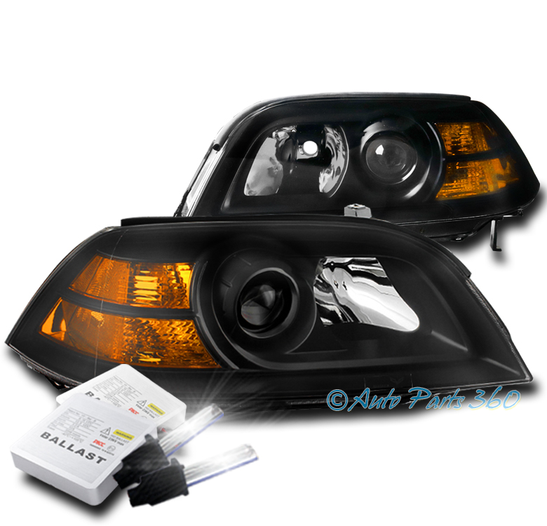 FOR 04 05 06 ACURA MDX PROJECTOR REPLACEMENT HEADLIGHTS