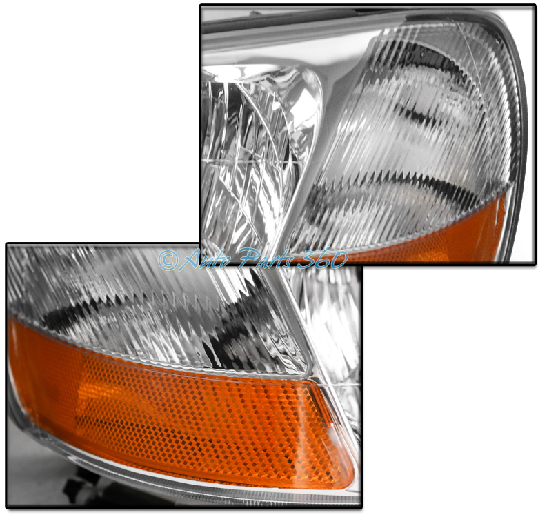 FOR 02-03 ACURA TL (HID MODEL) REPLACEMENT HEADLIGHTS