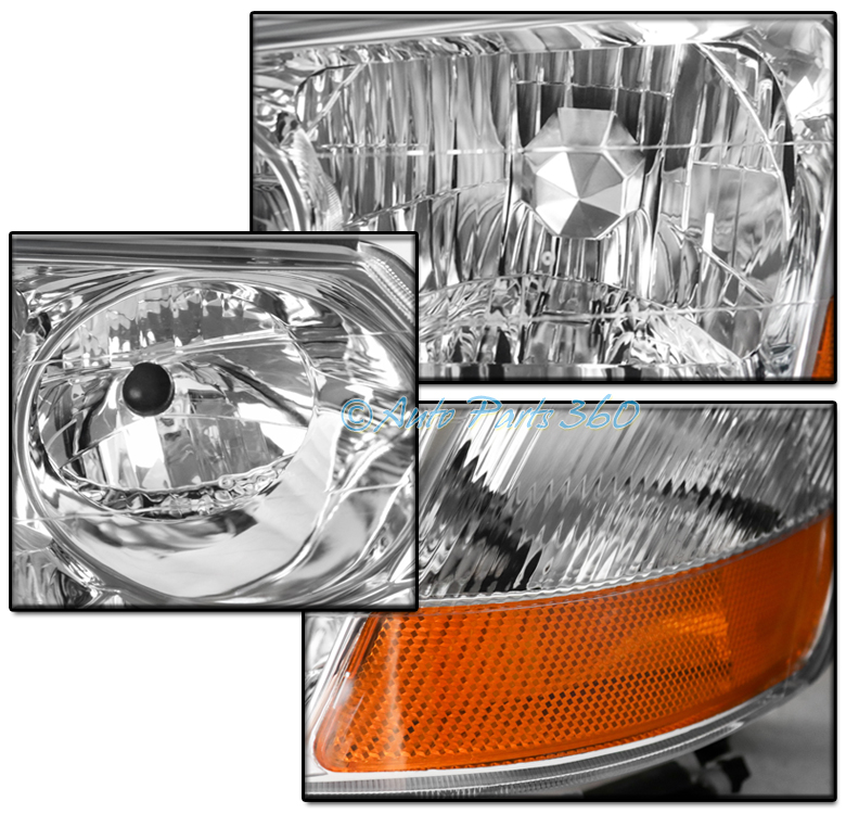FOR 02-03 ACURA TL (HID MODEL) REPLACEMENT CHROME