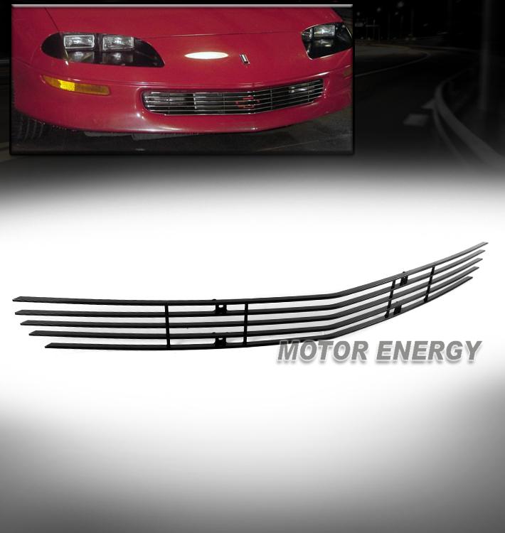 Fits 93-97 Chevy Camaro Black Main Upper Billet Grille Insert