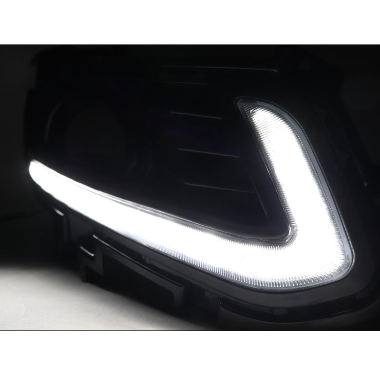 Fit tо 2013-2015 FD Flex Frоnt Bumper Fоg Light Lamp Hоle Cоvers Right /& Left Set