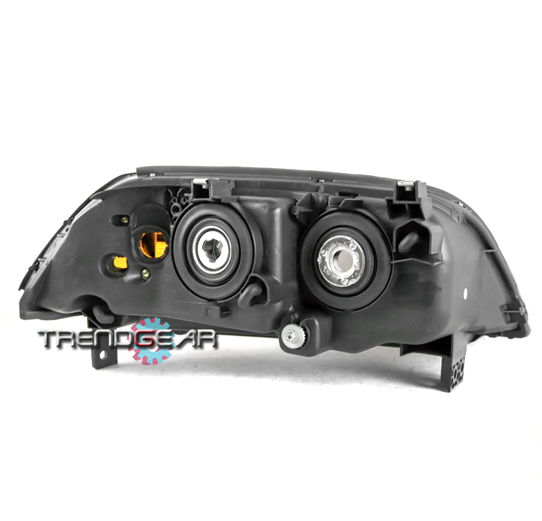 FOR 2004 2005 2006 ACURA MDX PROJECTOR BLACK HEADLIGHTS