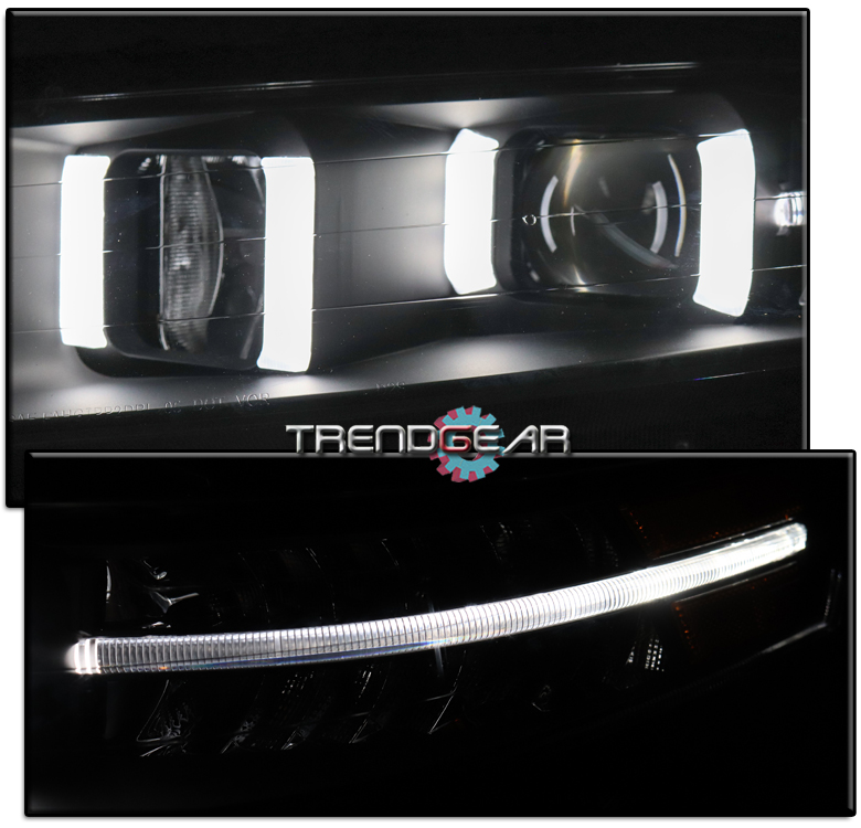 FOR 04-08 ACURA TL LED DRL TUBE PROJECTOR HEADLIGHTS LAMPS
