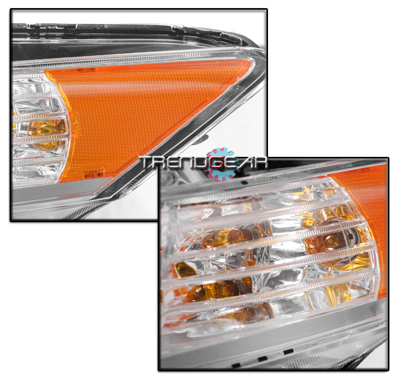 FOR 2009-2014 ACURA TSX [HID MODEL] LED BAR PROJECTOR