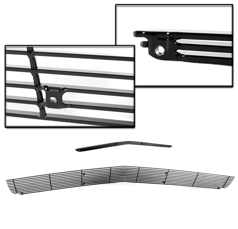 FOR 10-13 CHEVY CAMARO SS V8 UPPER+BUMPER+HOOD SCOOP