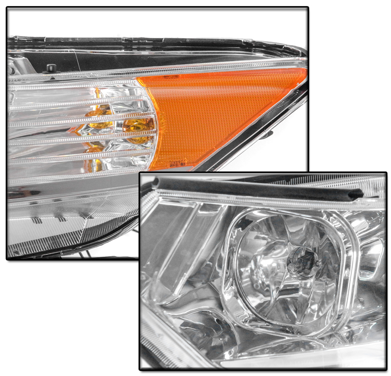 FOR 09-14 ACURA TSX [HID MODEL] LED PROJECTOR HEADLIGHTS