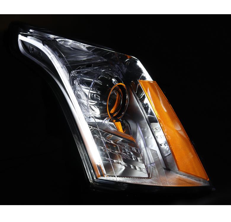 For 10-14 Cadillac SRX [HID Xenon] LED Projector Headlight ...